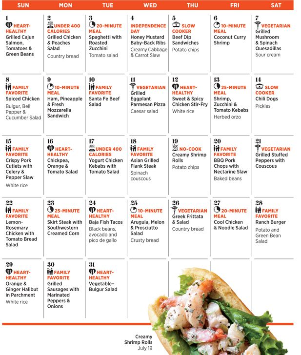 99 best Meal planning images on Pinterest | Monthly meal planning ...