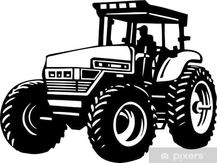 Pin By Huisache On Brelok Drewno Tractors Tractor Silhouette Tractor Art