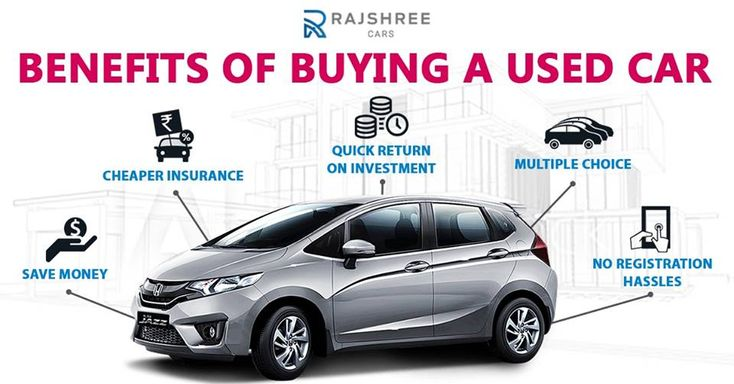 Here are the benefits of buying a usedcar from