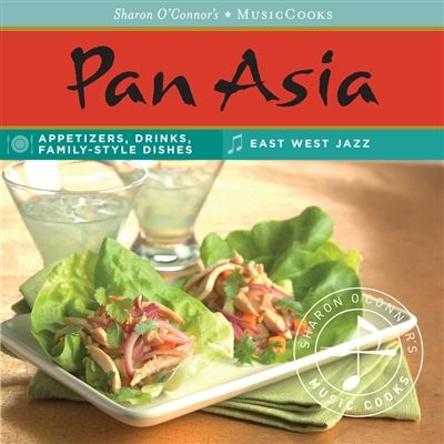 MMASan, $23.95; special order. Cook delicious Asian food at home while you listen to great music. Savory, sweet, and spicy dishes for family-style cooking from Japan, China, and S.E. Asia.