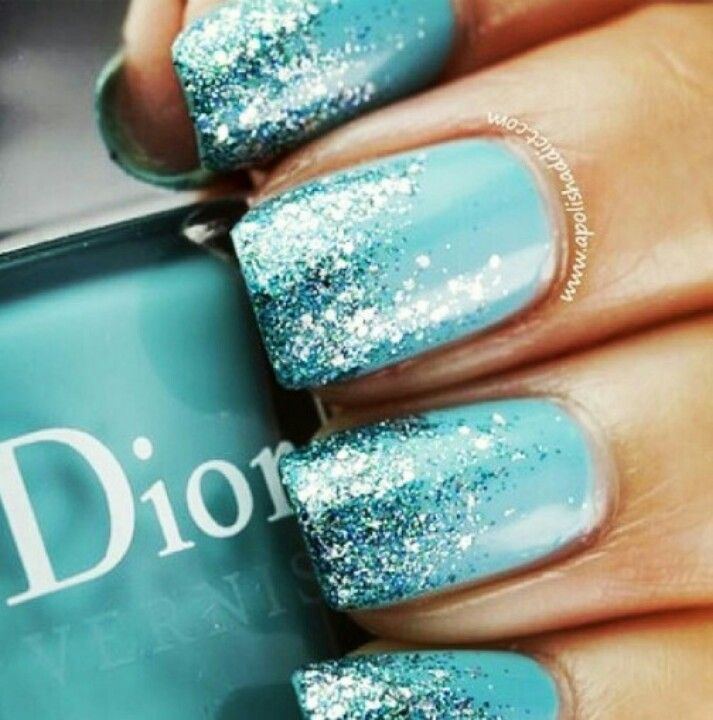 Tiffany Blue With Some Sparkle!