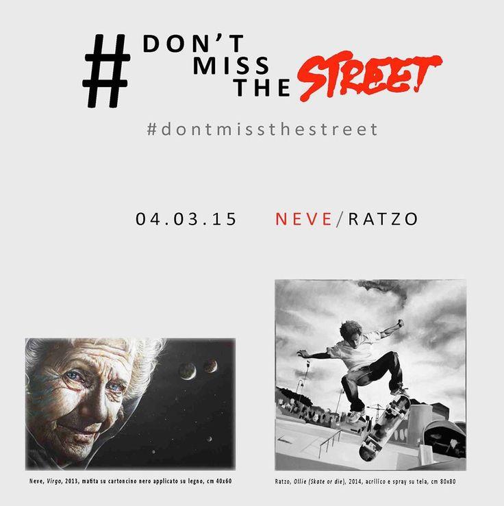 Galleria d' Arte Livorno – Mostre Eventi Toscana – # Don't miss the street Neve e Ratzo Galleria Asso di Quadri Milano 04/03 – 25/03