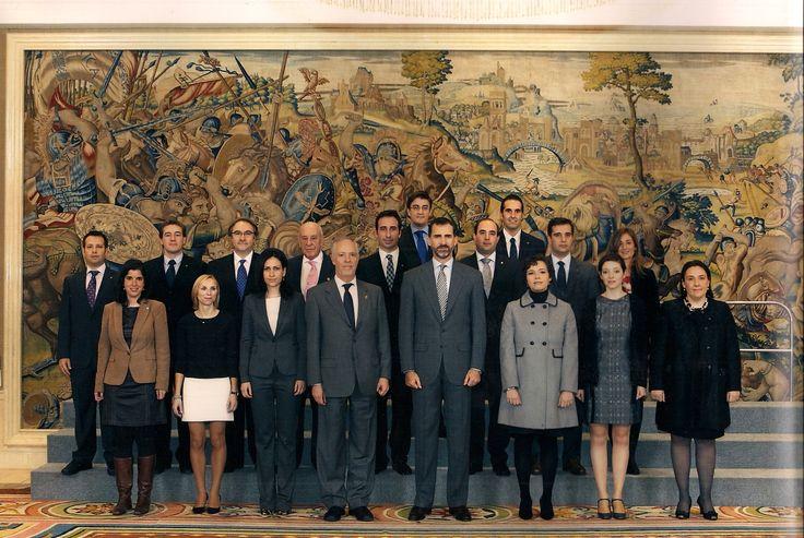 COIT, Audiencia con el entonces Príncipe Felipe, Comité Organizador del Congreso #joventeleco