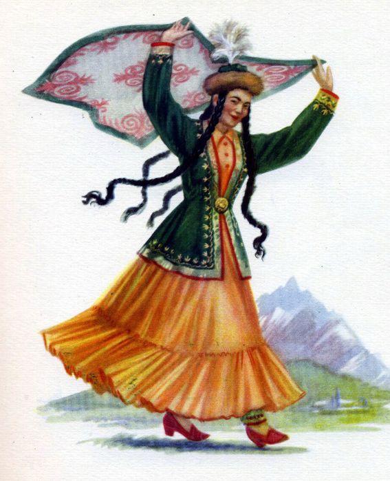 Башкирская открытка