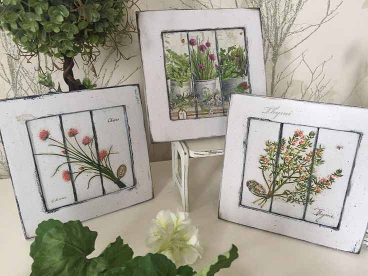 Купить Картина Цветущие травы Прованса и Гербарий - зеленый, прованс, травы, прованские травы, органик