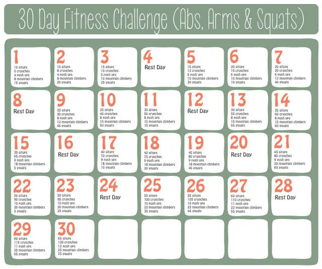 She Turned Her Dreams Into Plans: 30 Day Fitness Challenge