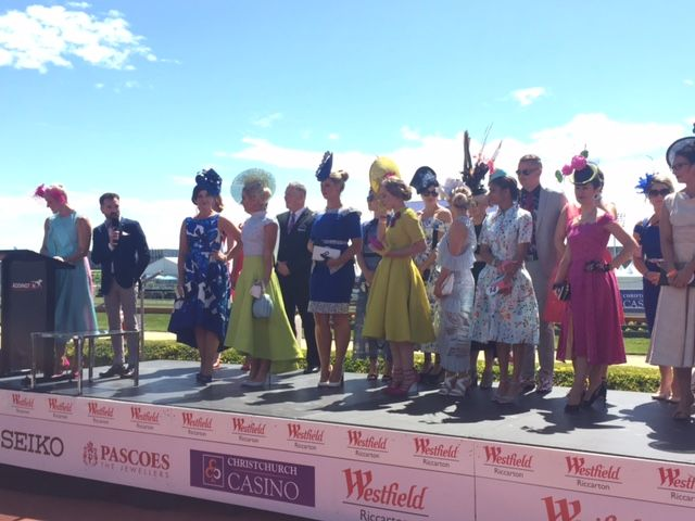 The Westfield Riccarton Style Stakes finals at Addington Raceway