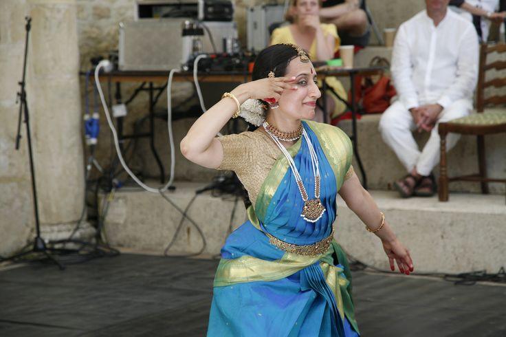Dancer Anusha Subrahmanyam in full flow. #colours #costume #jewellery #dancer #eyes #hands