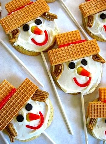 Scarecrow Cookie Treats - Things to Make and Do, Crafts and Activities for Kids - The Crafty Crow