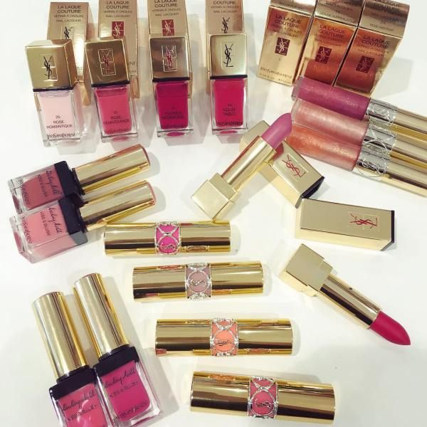 Yves Saint Laurent Matte Lipsticks