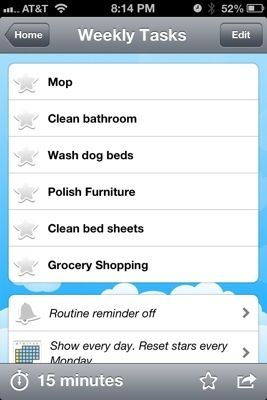 review home routines