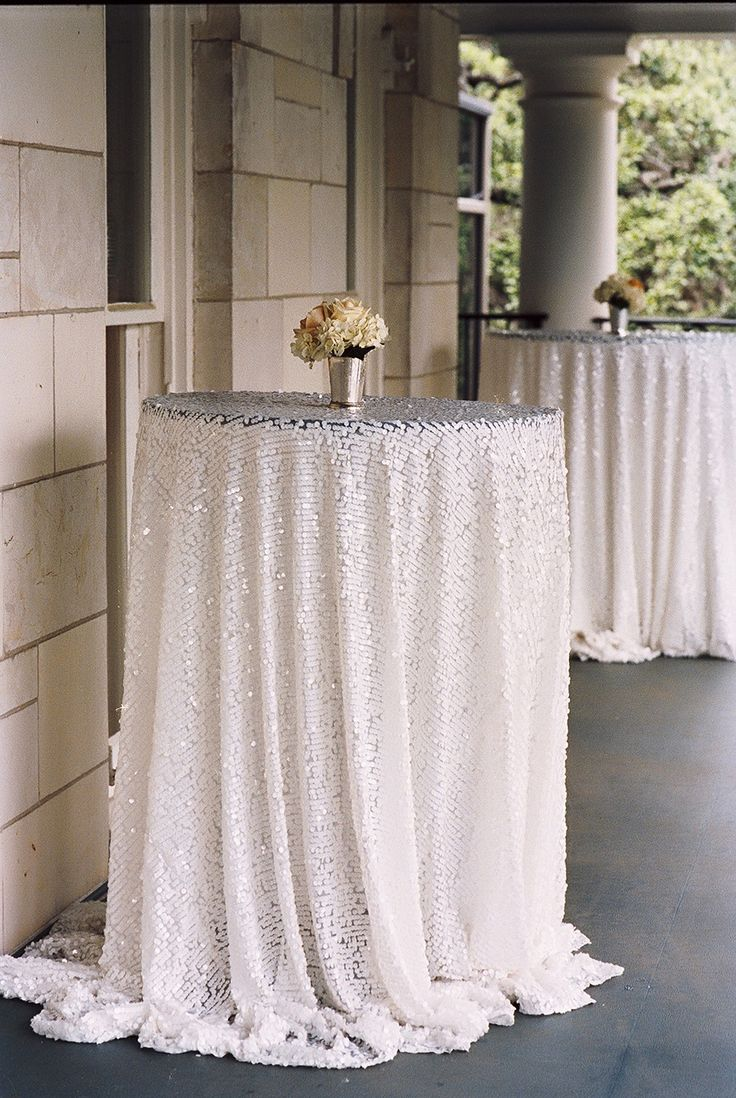 17 best ideas about sequin tablecloth on pinterest for White linen cocktail recipe