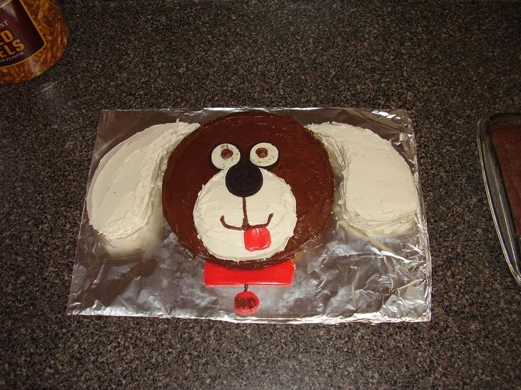 Animal Cakes Dog Easy