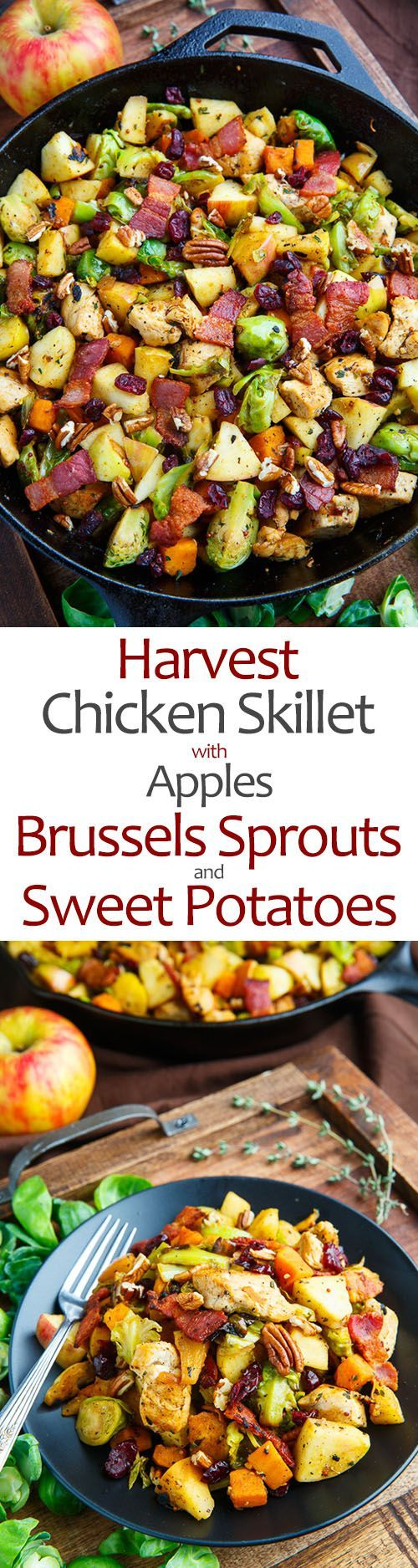 17 best images about electric skillet recipes on pinterest for Chicken and brussel sprouts skillet