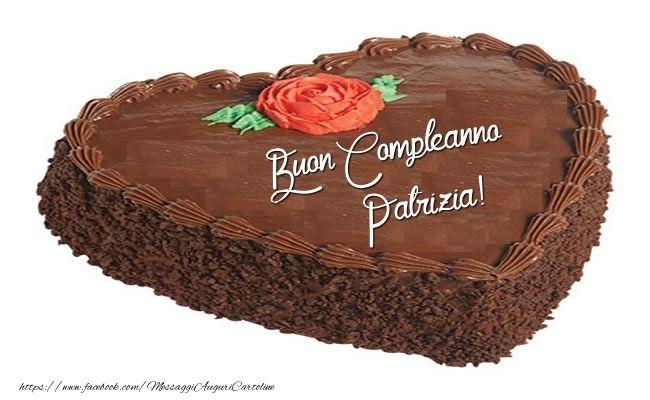 Torta Compleanno Patrizia.Torta Buon Compleanno Patrizia Torte Festivita Cartolina Di