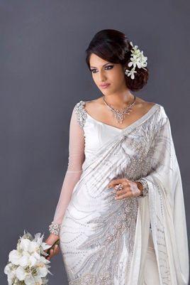 THE BRIDE HER WEDDING, A lovely Sri Lankan bride wearing Buddhi Batiks...
