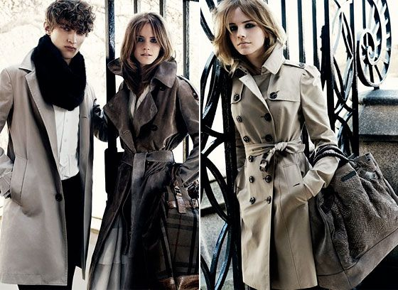 Burberry Trench - Ideal mid season coat