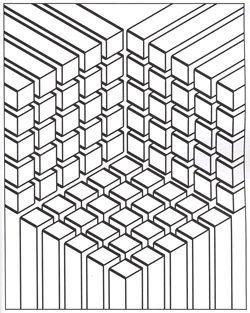 Les 86 meilleures images du tableau Coloriages Illusions d
