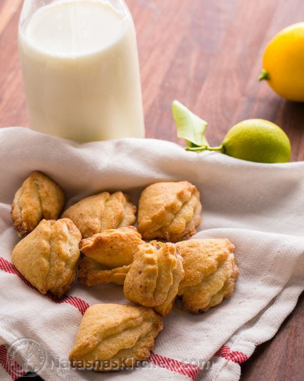 Cottage Cheese Cookies | Russian recipes, Russian Food, Russian desserts