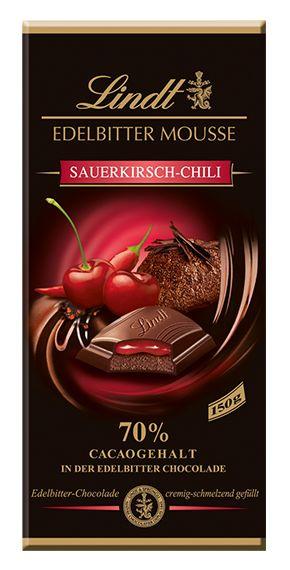 Edelbitter Mousse Sauerkirsch Chili