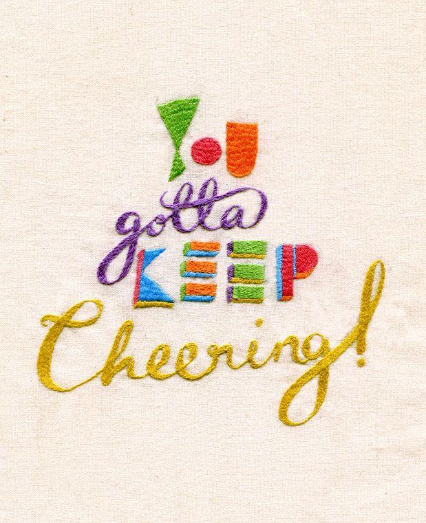 You Gotta Keep Cheering, 2010