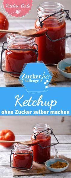 rezept f r ketchup ohne zucker paleo zucker und ketchup. Black Bedroom Furniture Sets. Home Design Ideas