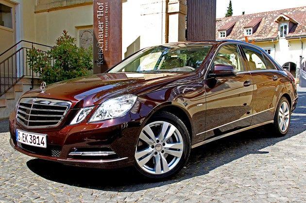 Mercedes benz e350 4matic w212 cuprite brown metallic for Brown mercedes benz