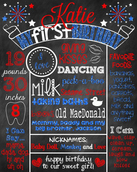 ... Poster on Pinterest : Poster boards, First birthdays and Poster