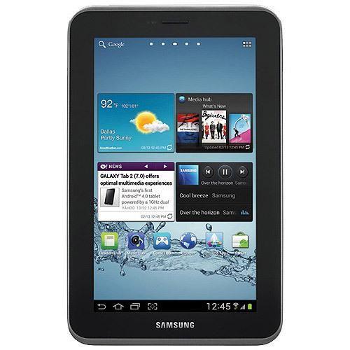 "Samsung Galaxy Tab 2 7"" Tablet with 8GB Memory - Titanium Silver (Refurbished)"