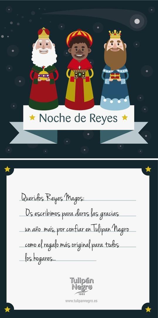 Queridos Reyes Magos...Este año hemos sido terriblemente buenos :-) Hemos tenido los mejores clientes que habríamos podido desear, hemos lanzado nuevos productos al mercado, hemos recibido muy buenos comentarios y halagos y por todo ello...este año os pedimos que sigamos tan bien como este año y cada día se sumen más personas a la familia de Tulipán Negro! Atentamente, El equipo de Tulipán Negro.  #TulipanNegro #ReyesMagos #Almeria #TulipánNegro #Nochedereyesmagos #magos #magia #regalos…