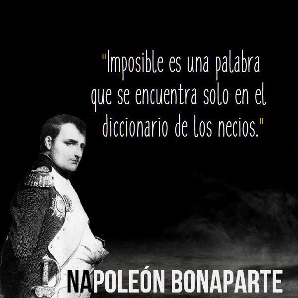 Imágenes con Frases de Napoleón Bonaparte | Fondos-Wallpappers-Portadas