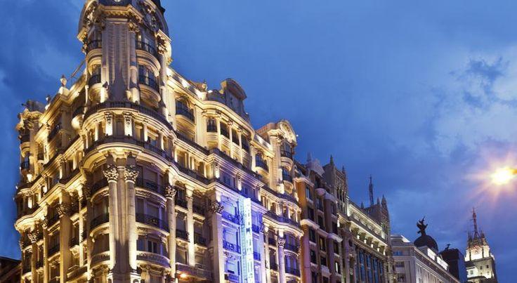 泊ってみたいホテル・HOTEL|スペイン>マドリード>マドリード中心部を貫くグランビア通り沿いのホテル>ホテル アトランティコ(Hotel Atlántico)   http://keymac.blogspot.com/2014/10/blog-post_80.html?spref=tw