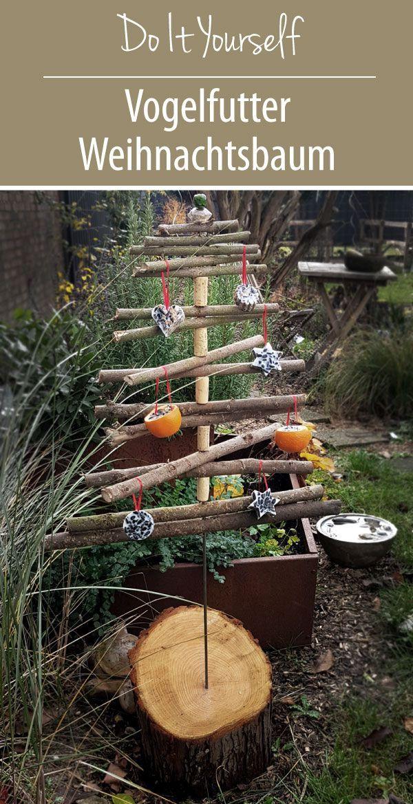 Vogelfutter Weihnachtsbaum Diy Diy Garten Garden Artwork Beautiful Birdhouses Bird Seed