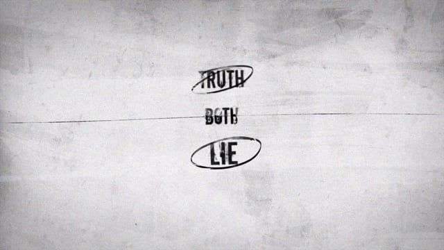 This is a short kinetic typography animation. It is about how the real truth sometimes can really hurt someone so badly. Some people want to hear but some don't.  Design / Animation : Rick Fourthirty VO : William Harris Background Music : The Day Love Came In The Mail by Lee Rosevere