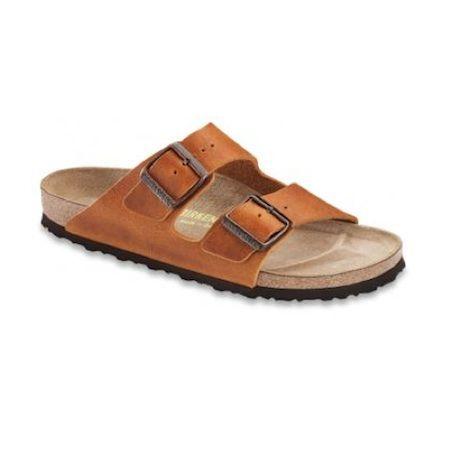 Birkenstock – Arizona Leather Antique Brown Sandal