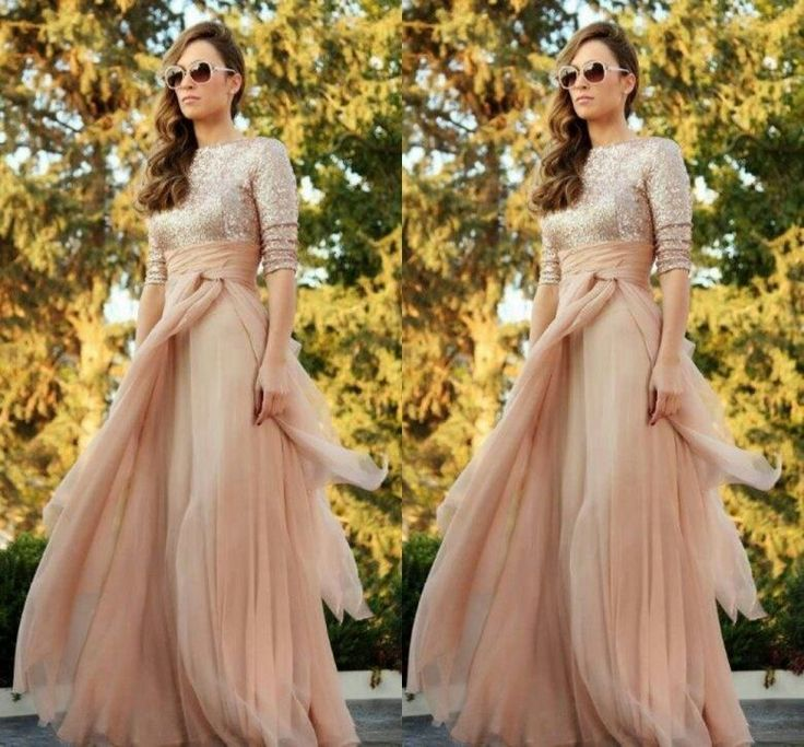 Patterns For Bridesmaid Dresses Sparkly 2015 Cheap Maid Of Honor Dress A Line Custom Made Sexy Crew Long Sleeve Sequins Ruffles Floor Length Chiffon Bridesmaid Dresses Plus Size Bridesmaids Dresses From Yoursexy_cute, $80.36| Dhgate.Com