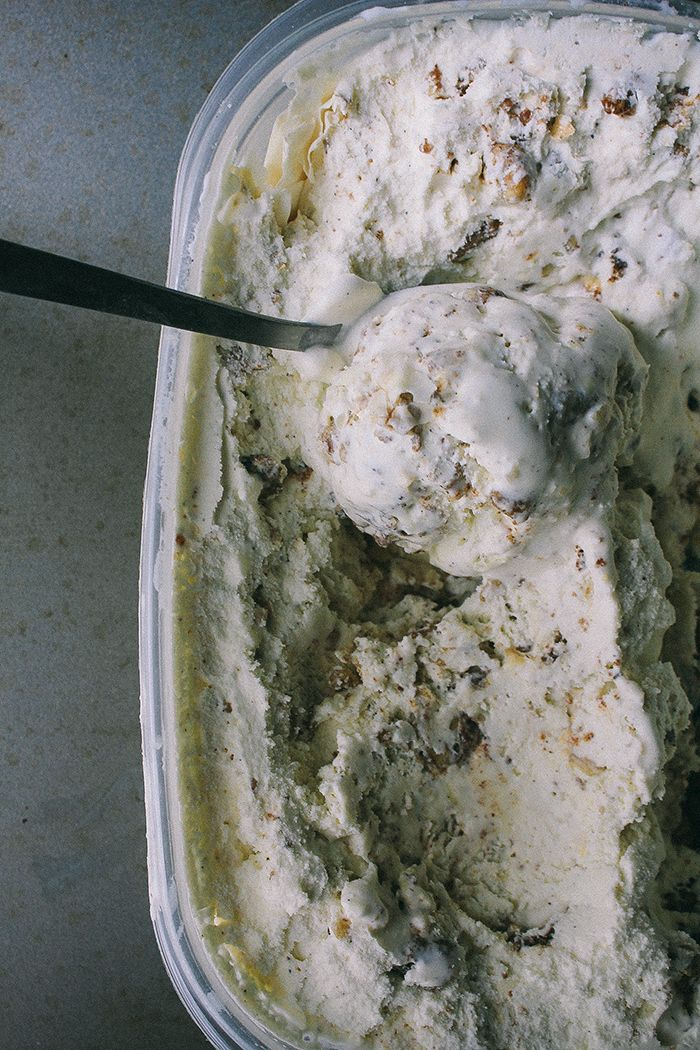 baklava ice cream. Cant wait to use the kitchenaid stand mixer on this recipe!