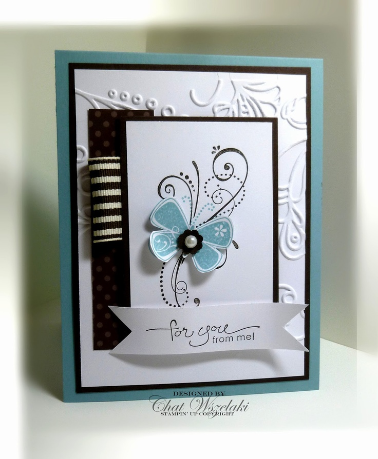 Love the stamped scrolls underneath the butterfly: Stamps Cards, Cards Ideas, Butterflies Sets, Priceless Chat, Cards Scrapbook, Cards Butterflies, Stampin Up, Stamps Sets, Greeting Cards
