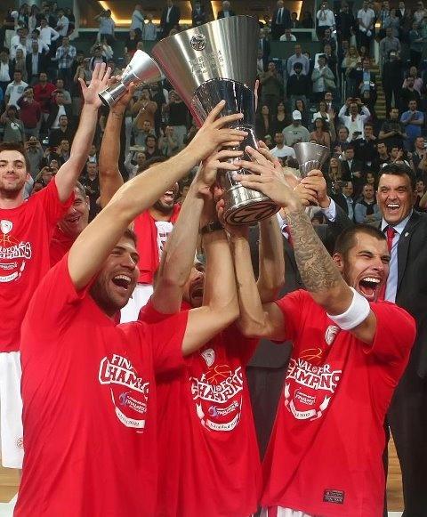 Olympiakos B.c Final four Konstantinoupolis