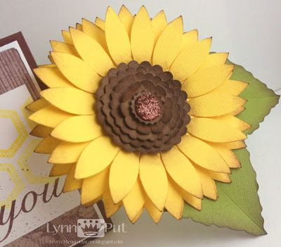 The Queen's Scene: SSSC#192 - Sunflower Thank You's