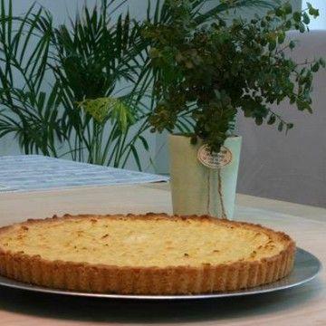 Ananaspaj - Recept - Tasteline.com