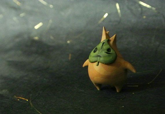 Mini Makar FIGURE or Necklace // The Legend of Zelda by MatchaNest