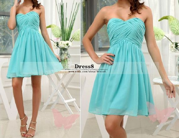 84 best images about bridesmaid dresses on pinterest for Wedding dresses with tiffany blue