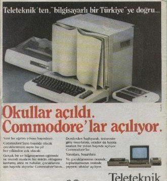 Commodore 64 Bilgisayar - 1982