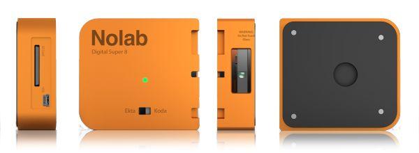 Hayes Urban designed a digital super 8 cartridge