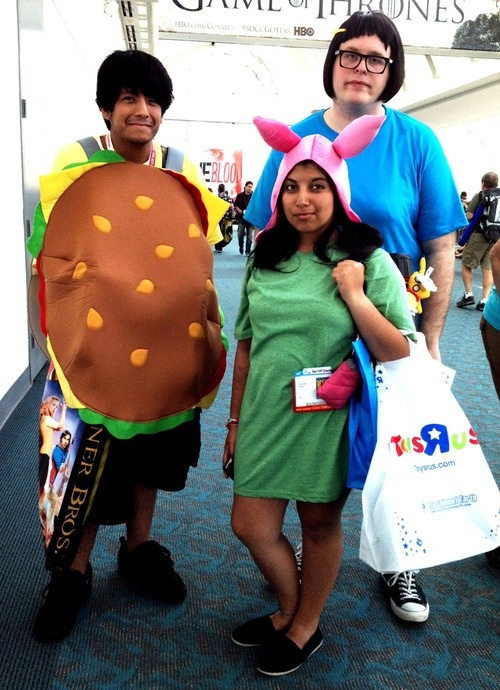 Bobs burgers louise cosplay