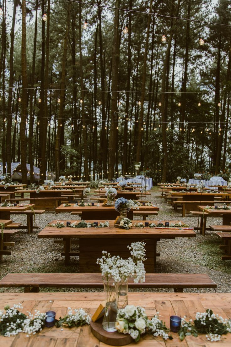 Dreamy Pine Forest Wedding At Gunung Pancar Bogor Forest Theme Wedding Forest Wedding Wedding In The Woods