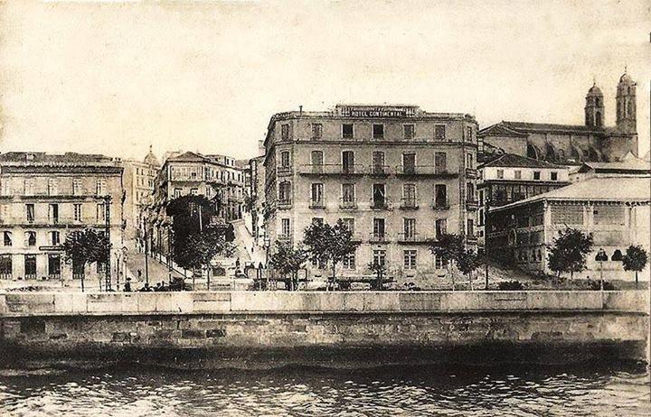 Hotel Universal, Continental y Mercado de A Laxe.