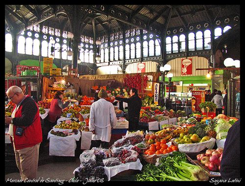 S7E2: DETOUR: Shop: Purchase items for chef @ Mercado Central - Santiago, Chile and bring back to Augusto chef