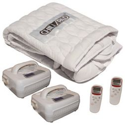 Contemporary Mattress Toppers And Pads by Contour Products, Inc. - Chilipad Temperature-Control Mattress Topper, Dual Zone $1,099
